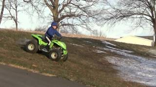 10. ARCTIC CAT 90CC YOUTH ATV