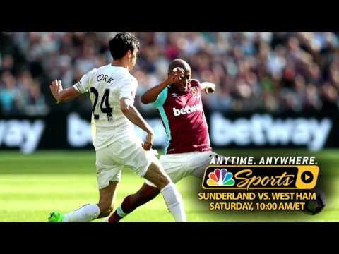 Video: Premier League Preview: Sunderland v. West Ham