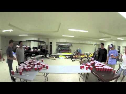 105 Cup Beer Pong Time Lapse