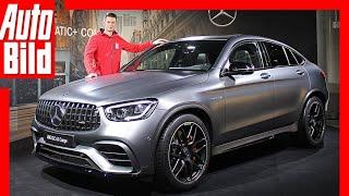 Mercedes-AMG GLC 63 s Coupé 4matic (2019) Premiere - Vorstellung - erste Bilder by Auto Bild