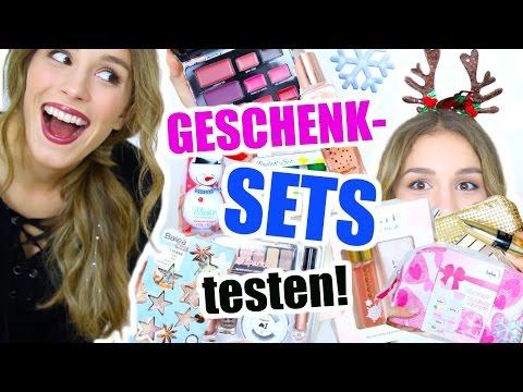 GESCHENK SETS aus der DROGERIE auspacken und testen! ♡ BarbieLovesLipsticks