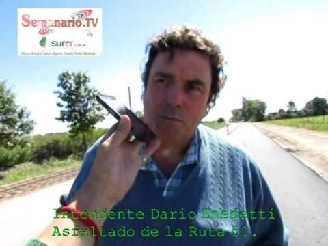 ASFALTADO RUTA 51