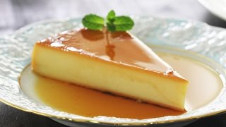 Cheesecake Flan Recipe by Home Cooking Adventure
