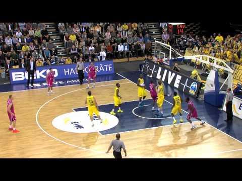 Highlights EWE Baskets Oldenburg vs. Telekom Baskets Bonn (75:86, 27.10.2013) (видео)