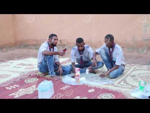 مأدبة إفطار جماعي لفوج كشاف غات