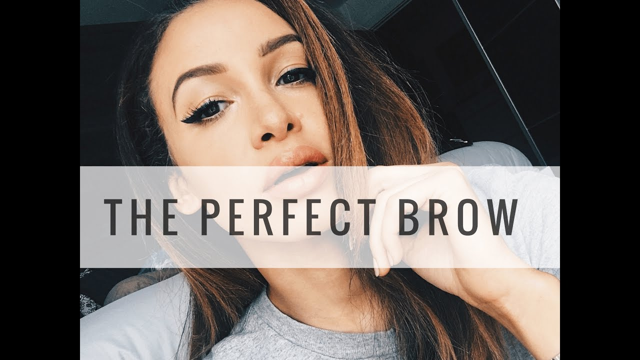 LAZY GIRLS GUIDE TO THE PERFECT BROW | Danielle Peazer
