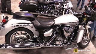 5. 2015 Yamaha V-Star 1300 - Walkaround - 2014 New York Motorcycle Show