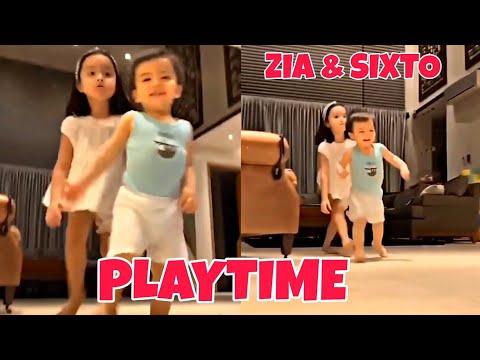 SIXTO AND ZIA DANTES, PLAYTIME // MARIAN RIVERA DINGDONG DANTES