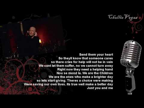 USA for Haiti - We are the World (official Music Video + Lyrics on Screen)