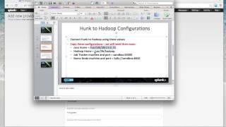 Video Tutorials: Splunk Hunk Tutorial On Hortonworks Sandbox