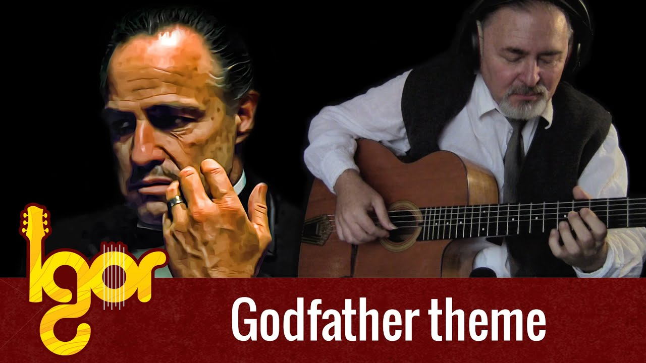 The Gоdfather Theme  – acoustic fingerstyle guitar