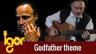 The Gоdfather Theme  - acoustic fingerstyle guitar Video