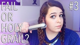 BEAUTY HACKS: Fail or Holy Grail? ♥ Braid Waves | Ellko - YouTube