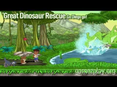 go diego au secours du dinosaure wii iso