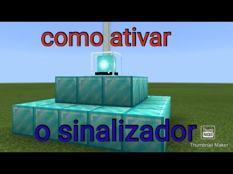 Como ativar o sinalizador no Minecraft #tutorial