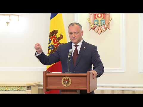The President of the Republic of Moldova launched a set of initiatives to amend the legislation