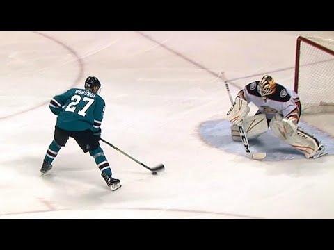 Video: Donskoi creates turnover and finishes for slick goal against Ducks