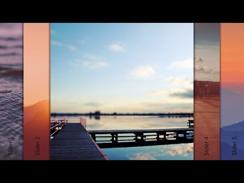 Learn to create a jQuery Accordion Slider