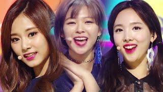《CUTE》 TWICE - KNOCK KNOCK @인기가요 Inkigayo 20170305