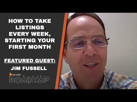 """ROADMAP Season 6 Episode 5:  """" How to take Listings every week - starting your first month! """""""