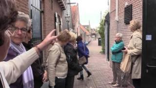 vrijwilligers  St.  Jozef uit Hooglanderveen doen een dagje Spakenburg