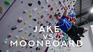 Jake vs. Moonboard: A Flash Battle by Verticalife