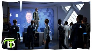 Detroit: Become Human Gameplay #15 | JERICHO FIGHT (Detroit Become Human)