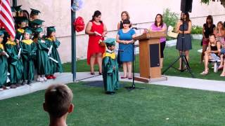 Watch This Pre-School Kid Give An Honest And Awesome Graduation Speech