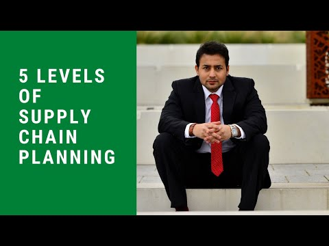 5 Levels of Supply Chain Planning