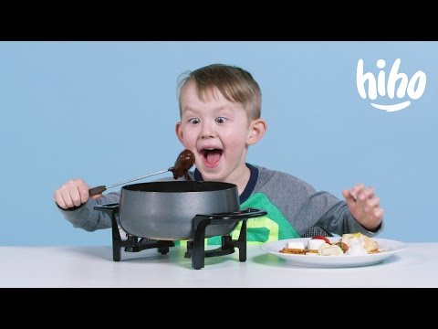 American Kids Try Swiss Fondue for the First Time