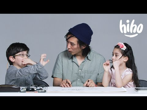 Kids Describe The Future To An Illustrator | Kids Describe | HiHo Kids