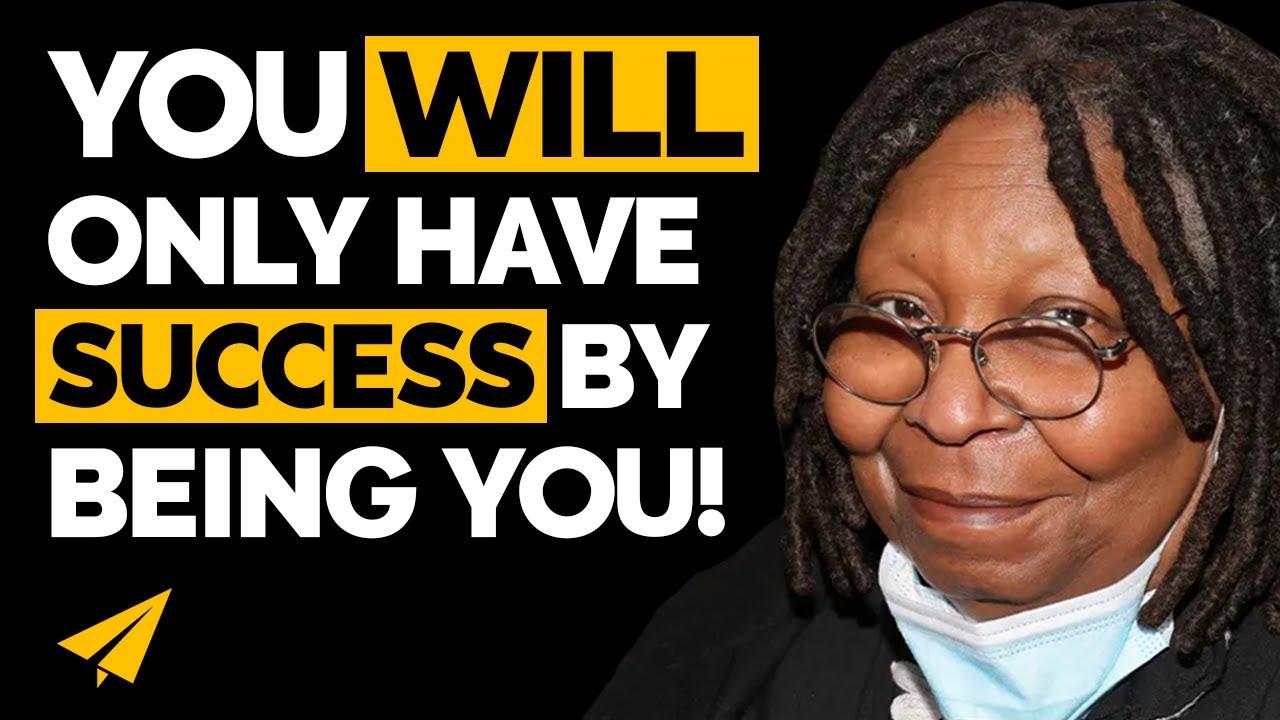 Be YOURSELF - Whoopi Goldberg (@WhoopiGoldberg) - #Entspresso
