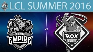 Empire vs RoX, game 1