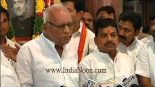Kapu Ramachandra Reddy Congress Press Conference