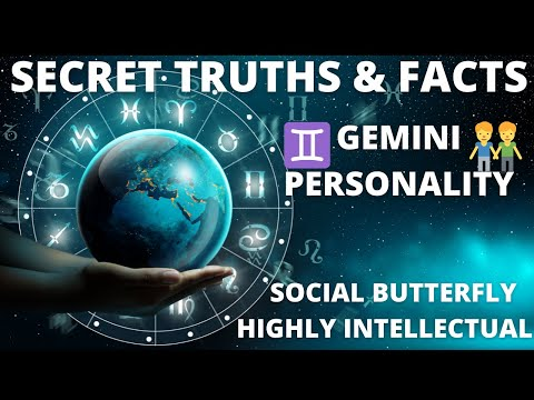 ♊ALL YOU NEED TO KNOW ABOUT GEMINI PERSONALITY & CHARACTERISTICS♊