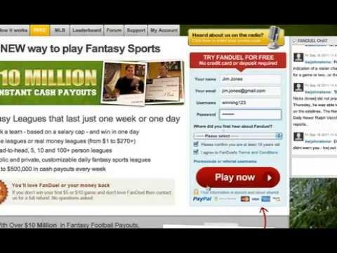 Daily Fantasy Sports Review – FanDuel