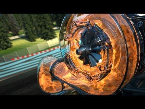 Formula One V6 turbo: 2014 Rules Explained Amazing cgi camera cut away graphics