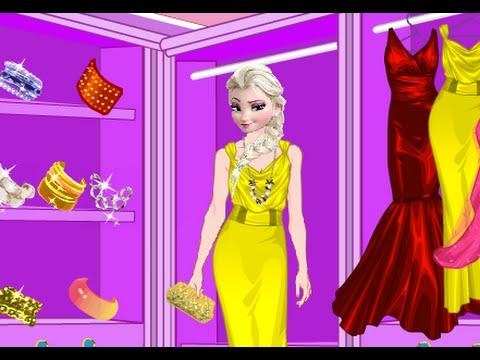 Game chọn thời trang cho Nữ hoàng Băng giá Elsa (Elsa Fancy Dress Up)