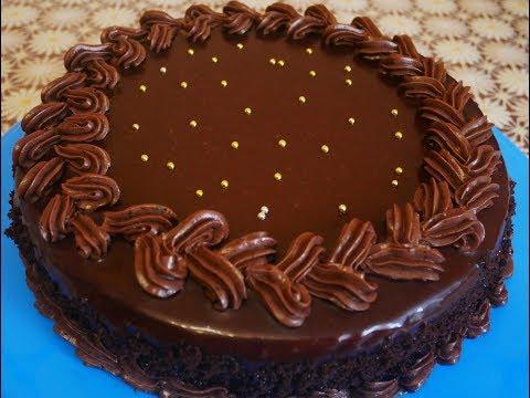 рецепт глазури шоколадной на торт