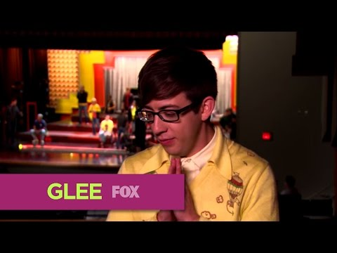 Glee 4.21 Behind the Scene