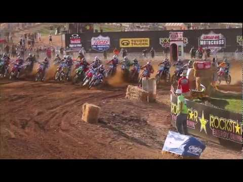 Lucas Oil AMA Motocross – 2011 Hangtown National Highlights – Chad Reed, Blake Baggett & More