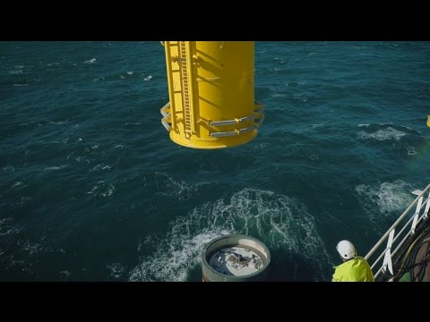 Veja Mate offshore wind farm installation