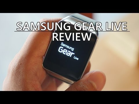 samsung - The Samsung Gear Live brings Samsung's own smartwatch style to the Android Wear ecosystem, plus a heart rate monitor. Is it enough to slap on your wrist? Josh checks it out.