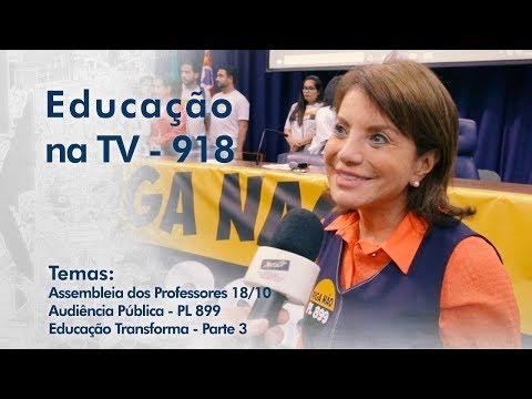 Assembleia dos Professores 18/10 | Audiência Pública - PL 899 | Educação Transforma - Parte 3