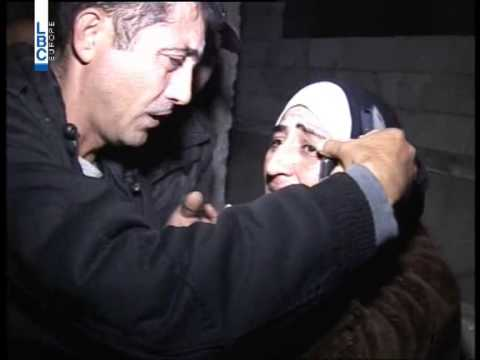 LBCI News - لحظة تلقي عائلة أحمد حوا خبر إصابته في رأس بعلبك