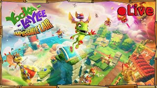 Yooka Laylee And The Impossible Lair (+ Minecraft Death Run) - • Live