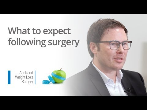What to expect following surgery