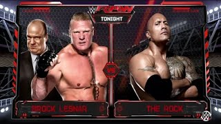 Nonton WWE Monday Night RAW 2018 Brock Lesnar vs. The Rock - WWE Raw 9/3/18 Film Subtitle Indonesia Streaming Movie Download