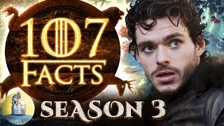 It's back to Westeros with 107 facts about Game of Thrones Season 3, and this time around we're not holding back in our quest for...