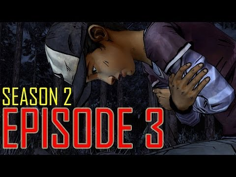 The Walking Dead Game Season 2 Episode 3 PART 1 FULL EPISODE 8 let's play gameplay - no commentary